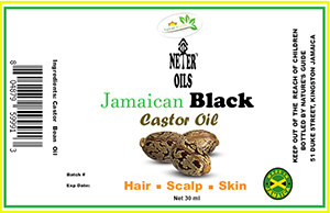Castor Oil Label 30ml sml